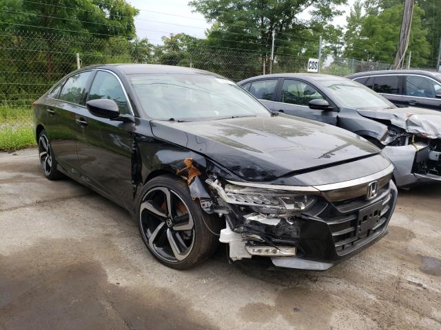 Salvage cars for sale from Copart Marlboro, NY: 2020 Honda Accord Sport