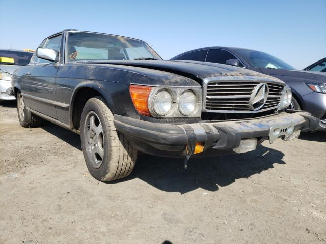 Salvage cars for sale from Copart San Martin, CA: 1983 Mercedes-Benz 380 SL