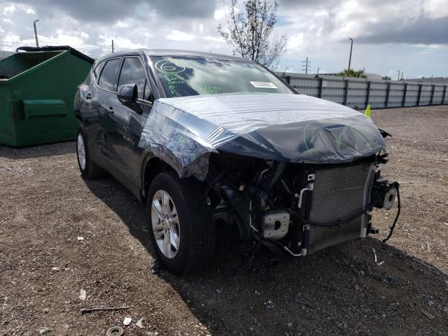 Salvage cars for sale from Copart Miami, FL: 2019 Chevrolet Blazer 1LT