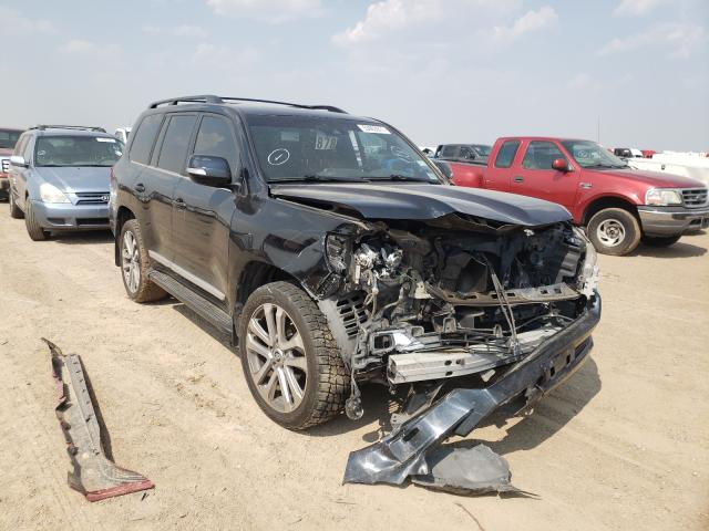 Toyota salvage cars for sale: 2017 Toyota Land Cruiser