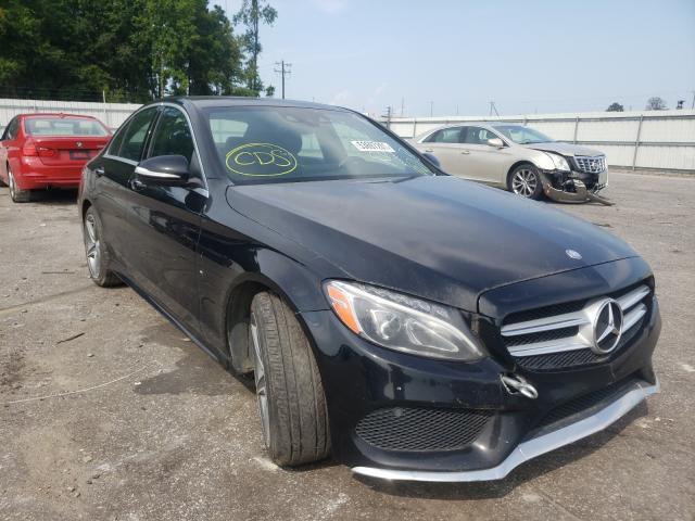 Vehiculos salvage en venta de Copart Dunn, NC: 2015 Mercedes-Benz C 300 4matic