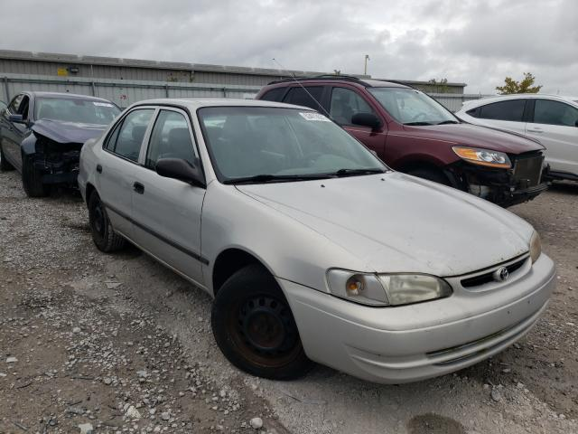 Salvage cars for sale from Copart Walton, KY: 2000 Toyota Corolla VE