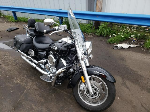 Salvage cars for sale from Copart Cudahy, WI: 2009 Yamaha XVS1100 A