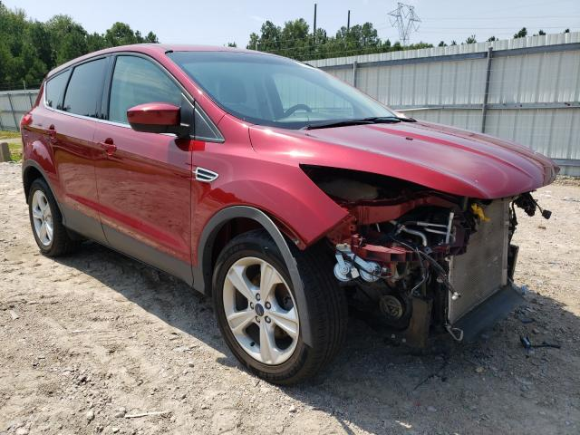 Salvage cars for sale at Charles City, VA auction: 2015 Ford Escape SE
