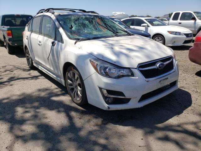 Salvage cars for sale from Copart San Martin, CA: 2016 Subaru Impreza SP