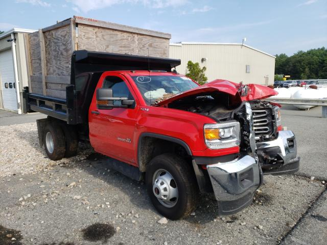 Salvage cars for sale from Copart Exeter, RI: 2018 GMC Sierra K35