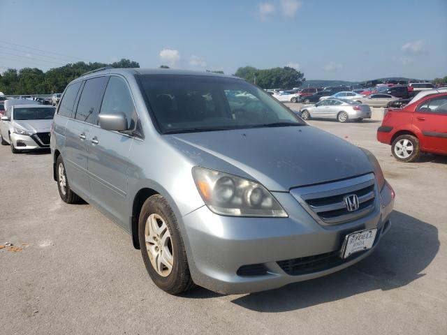 Salvage cars for sale from Copart Lebanon, TN: 2007 Honda Odyssey