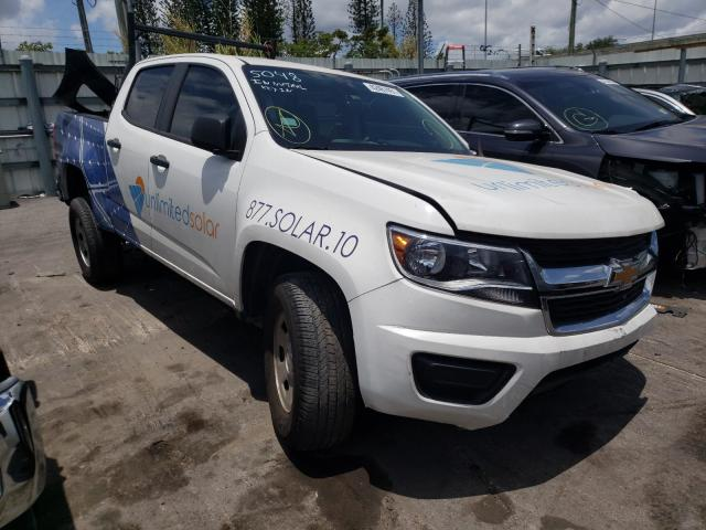 Vehiculos salvage en venta de Copart Miami, FL: 2020 Chevrolet Colorado