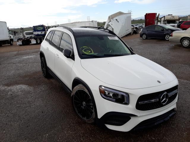 Salvage cars for sale at Tucson, AZ auction: 2021 Mercedes-Benz GLB 250