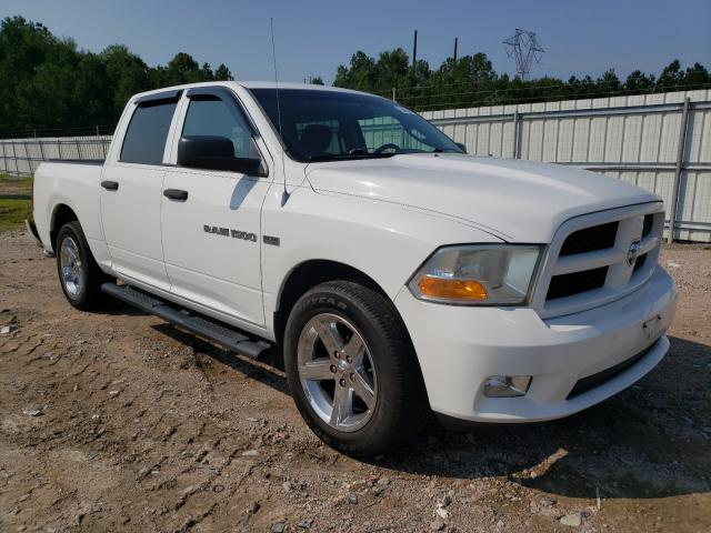 Salvage cars for sale at Charles City, VA auction: 2012 Dodge RAM 1500 S