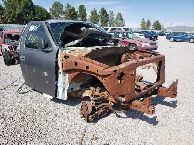 Salvage trucks for sale at Anthony, TX auction: 2002 Ford F150
