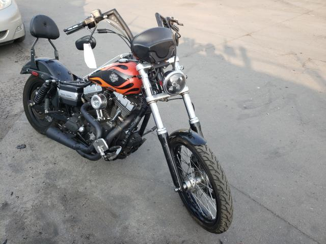 Salvage cars for sale from Copart Littleton, CO: 2011 Harley-Davidson Fxdwg