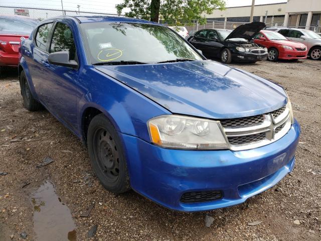 Vehiculos salvage en venta de Copart Wheeling, IL: 2014 Dodge Avenger SE