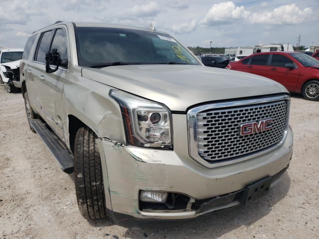 Salvage cars for sale from Copart Houston, TX: 2016 GMC Yukon XL D