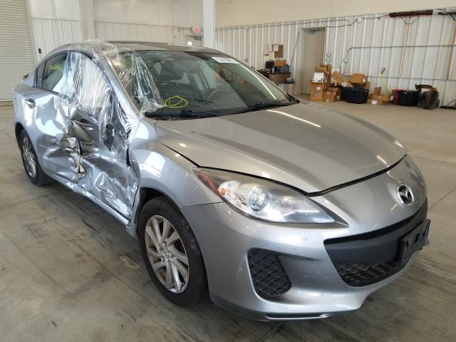 Mazda 3 I salvage cars for sale: 2012 Mazda 3 I