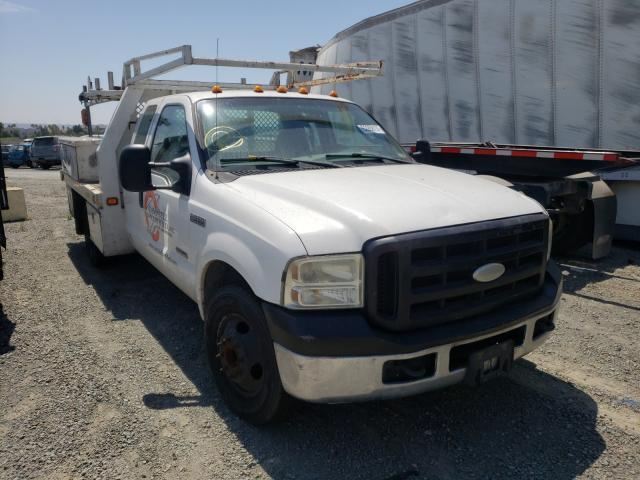 Ford salvage cars for sale: 2005 Ford F350 Super