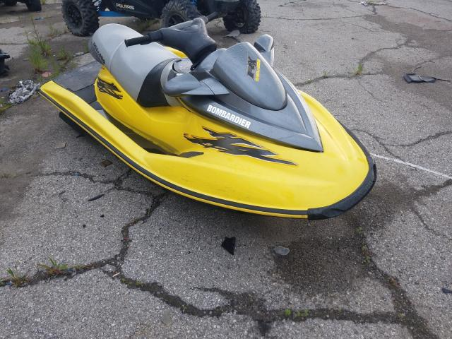 Salvage boats for sale at Woodhaven, MI auction: 2001 Seadoo Jetski