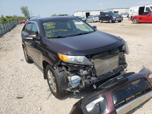 Salvage cars for sale from Copart Kansas City, KS: 2012 KIA Sorento SX
