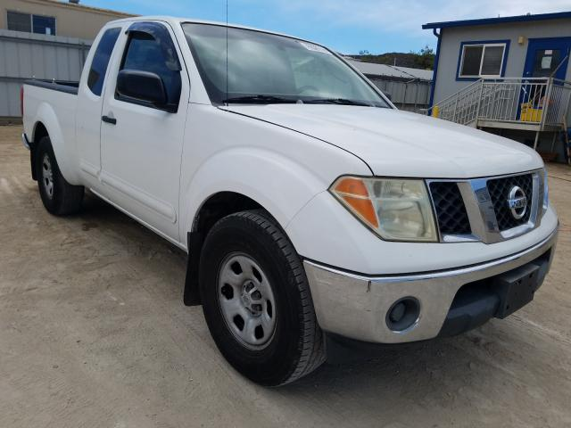 Salvage cars for sale from Copart Kapolei, HI: 2007 Nissan Frontier K
