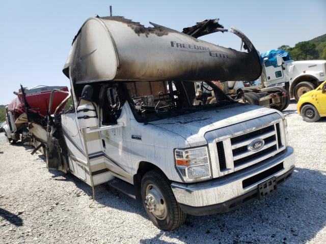 Salvage trucks for sale at Prairie Grove, AR auction: 2014 Ford Econoline