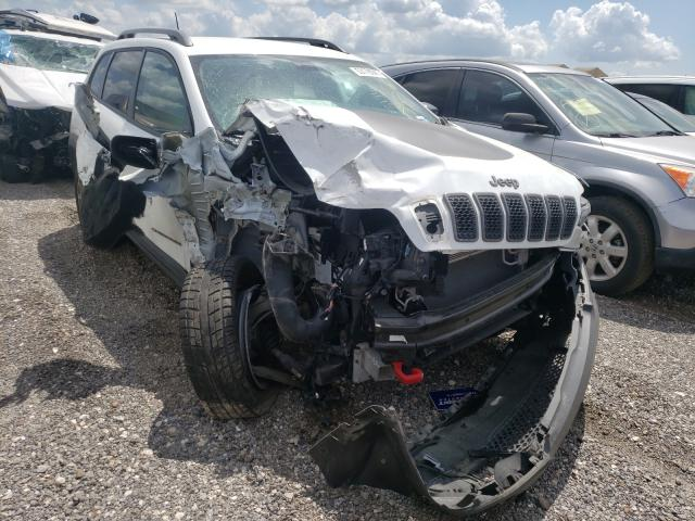 Salvage cars for sale from Copart Houston, TX: 2020 Jeep Cherokee T