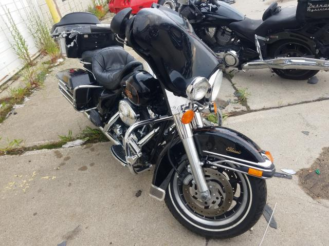 Salvage cars for sale from Copart Woodhaven, MI: 2002 Harley-Davidson Flht Class