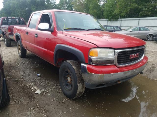Salvage trucks for sale at Billerica, MA auction: 2002 GMC Sierra K15
