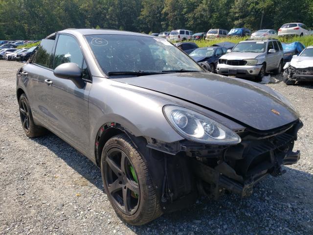 Porsche salvage cars for sale: 2011 Porsche Cayenne S