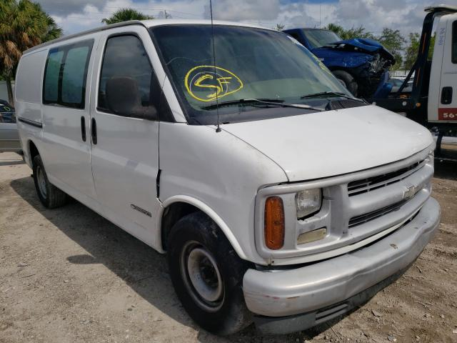 Salvage cars for sale from Copart West Palm Beach, FL: 2001 Chevrolet Express G2