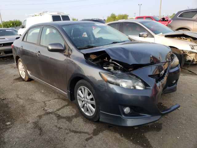Salvage cars for sale from Copart Indianapolis, IN: 2009 Toyota Corolla BA