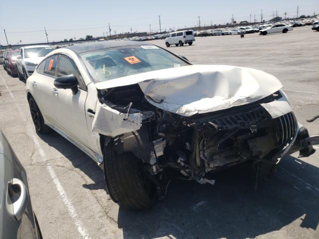 Salvage cars for sale from Copart Sun Valley, CA: 2021 Mercedes-Benz AMG GT 43