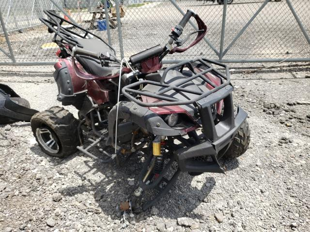 Salvage trucks for sale at Houston, TX auction: 2021 Zhejiang 4WHEELER