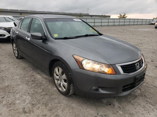 Salvage cars for sale from Copart Walton, KY: 2008 Honda Accord EXL