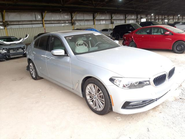 Salvage cars for sale from Copart Phoenix, AZ: 2018 BMW 530E