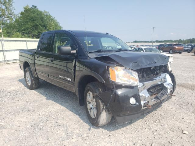 Salvage cars for sale from Copart Leroy, NY: 2015 Nissan Titan S
