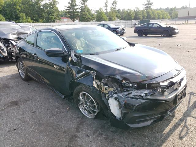 Salvage cars for sale from Copart Exeter, RI: 2016 Honda Civic LX