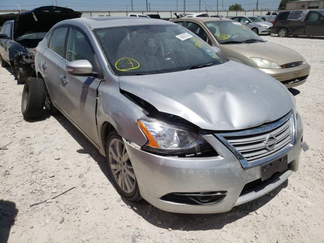 Salvage cars for sale from Copart Haslet, TX: 2014 Nissan Sentra S