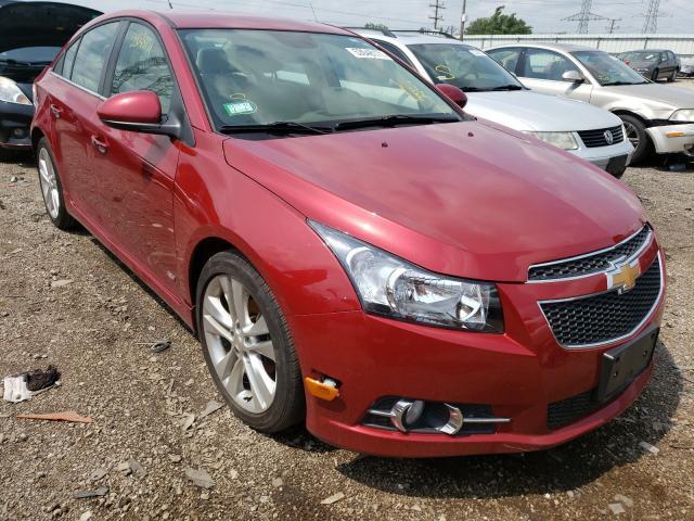 Salvage cars for sale at Elgin, IL auction: 2012 Chevrolet Cruze LTZ