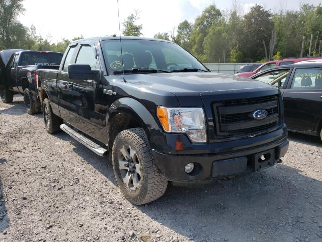 Salvage cars for sale from Copart Leroy, NY: 2013 Ford F150 Super