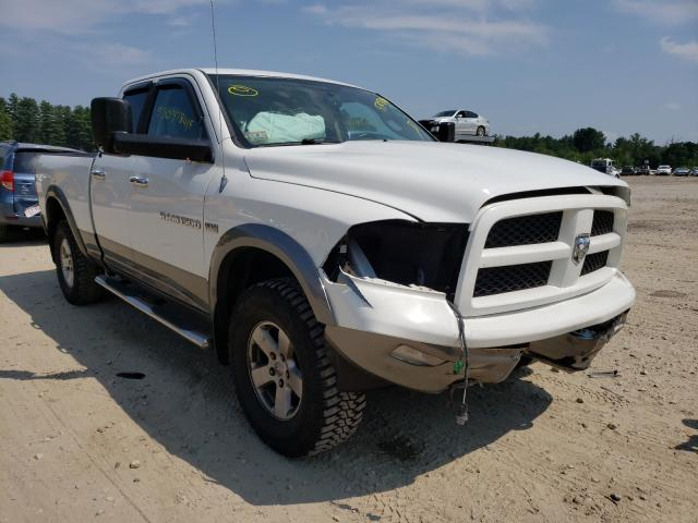 Salvage cars for sale from Copart Mendon, MA: 2012 Dodge RAM 1500 S