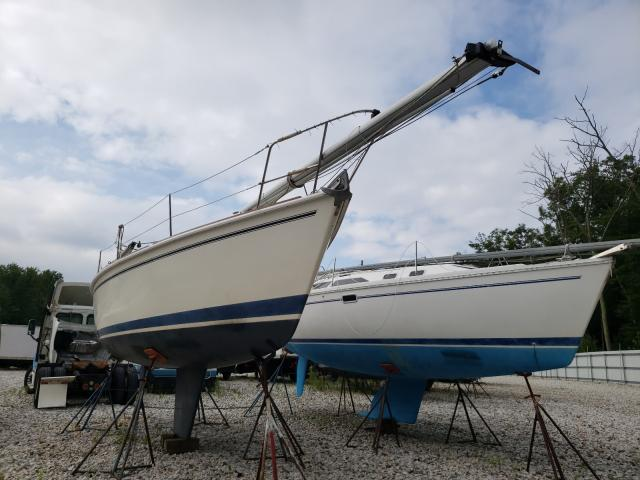 Salvage boats for sale at Warren, MA auction: 1986 Pear 28' Sail