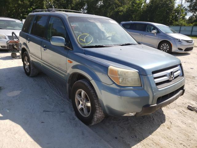 Salvage cars for sale from Copart Ocala, FL: 2006 Honda Pilot EX