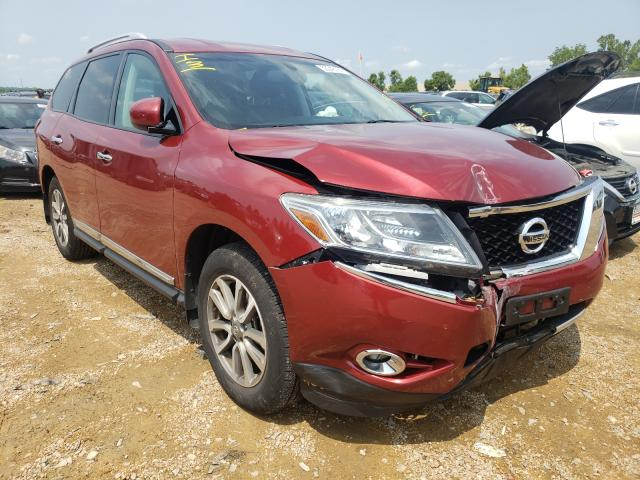 Nissan Pathfinder salvage cars for sale: 2013 Nissan Pathfinder