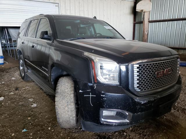Salvage cars for sale from Copart Houston, TX: 2015 GMC Yukon Dena