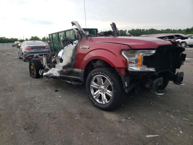 Salvage cars for sale from Copart Alorton, IL: 2019 Ford F150 Super