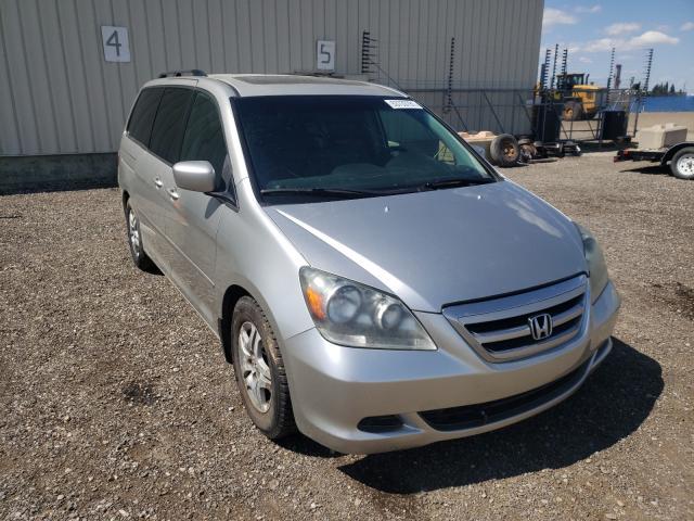 Vehiculos salvage en venta de Copart Rocky View County, AB: 2006 Honda Odyssey EX
