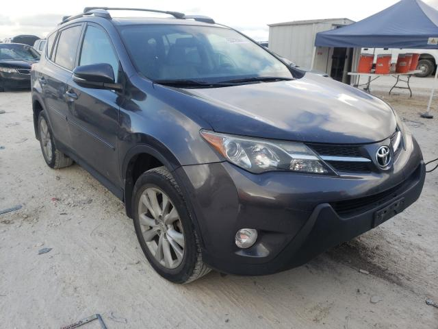 Salvage cars for sale from Copart New Braunfels, TX: 2015 Toyota Rav4 Limited