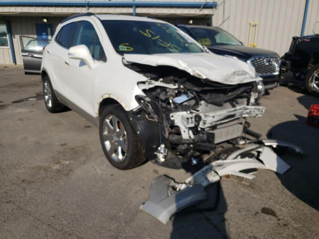 Salvage cars for sale at Memphis, TN auction: 2015 Buick Encore CON
