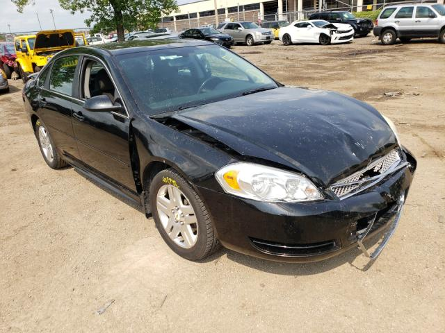 Salvage cars for sale from Copart Wheeling, IL: 2012 Chevrolet Impala LT