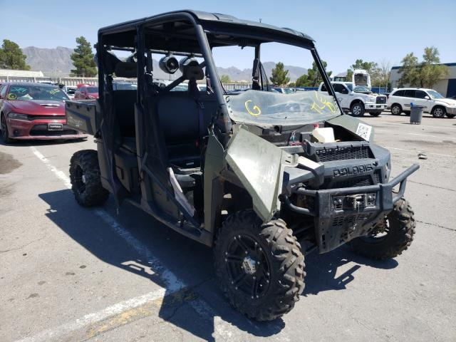 Salvage cars for sale from Copart Anthony, TX: 2017 Polaris Ranger CRE